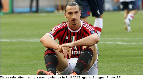 Zlatan's lament: 'I'm not used to winning nothing'