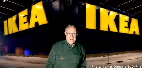 Kamprad gives millions to house Swiss retirees