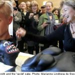 Robyn slams minister over 'racist' cake cutting