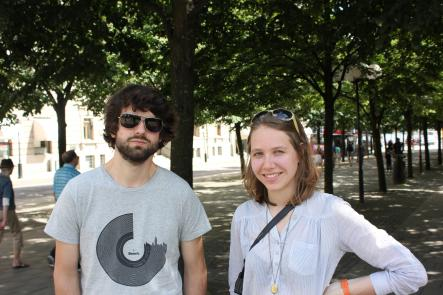 Marius, 25 and Lisa, 25<br>It's a holy time. Apparently they even celebrate it in China. It's a big deal seeing as Islam is the largest religion in the world by population.