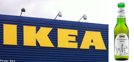 Ikea uncaps new beer: no assembly required