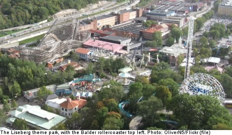 Woman 'too fat' for Swedish theme park ride