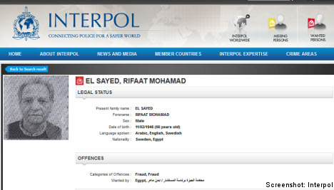 Former 'Swede of the Year' wanted by Interpol