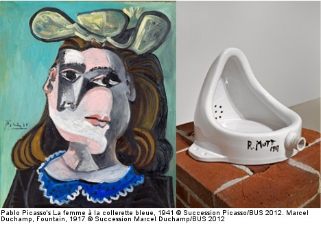 Picasso and Duchamp face-off in Stockholm art exhhibit