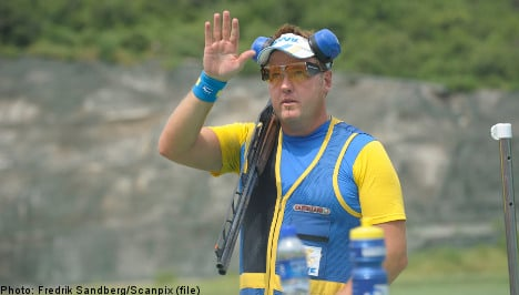 Sweden's Dahlby claims shooting silver