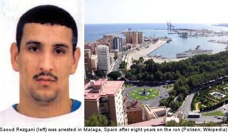 Runaway drug smuggler caught after eight years