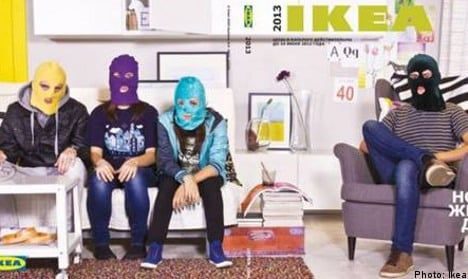 Ikea pulls Pussy Riot protest pic