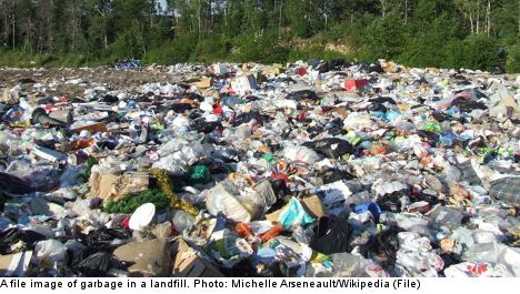 Swedish town to dig up, sort 40-year-old rubbish