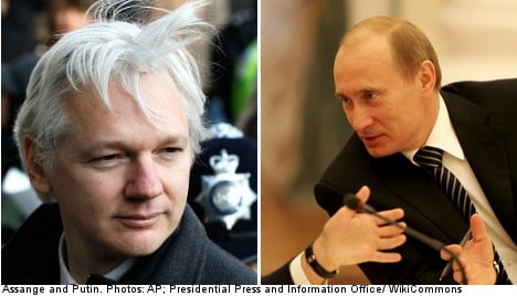 Putin weighs in on Assange: 'it's political'