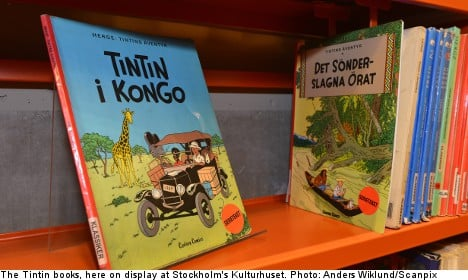 Outrage leads Stockholm library to drop Tintin ban