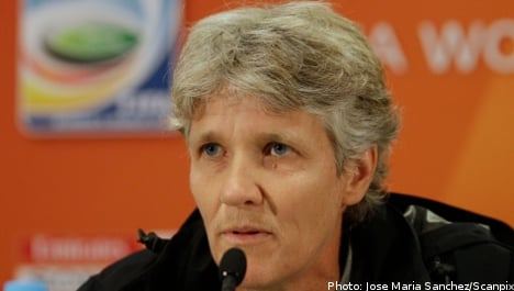Pia Sundhage named new Sweden coach