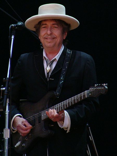 """Bob Dylan, 71, Musician, singer-songwriter, poet.<br>Known for: His extensive backlist of music and his autobiography, Chronicles: Volume One (2004). Louise Nordstrom, Fox News: """"American singer-songwriter Bob Dylan — an outsider whose name appears in the Nobel buzz every year though the committee has never given the prize to a musician — placing fourth at 10/1."""" Data is from Ladbrokes.Photo: Diario de un pixel/Flickr"""