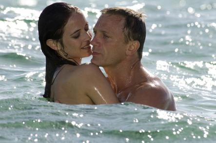 """Eva Green<br>Seen here with Daniel Craig, on the set of """"Casino Royale"""" from 2006. Green's father is half-Swedish, making her at least a quarter of a Swedish Bond girl.Photo: AP"""