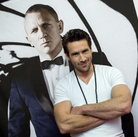 """Ola Rapace<br>Rapace in Stockholm, ahead of the premiere of """"Skyfall"""". No, Rapace is not a Bond Girl, but his is the biggest Swedish name in the film, playing villain Patrice, across from Daniel CraigPhoto: Claudio Bresciani/Scanpix"""