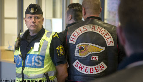 Hells Angels take the stand after party attack