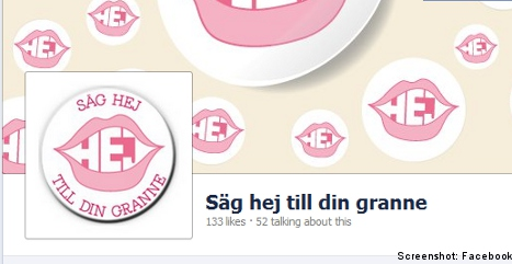 Campaign aims to teach Swedes how to say 'hi'