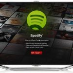 Spotify on Samsung smart TVs in Europe