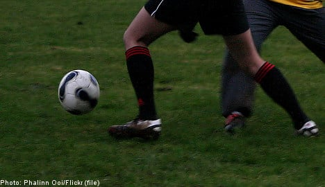 Swedish teen footballer charged after pitch attack