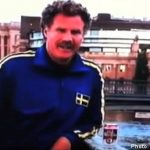 Will Ferrell in Stockholm beer ad mystery