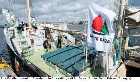 Ship to Gaza boarded by Israeli soldiers: report