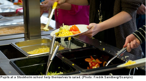 Lunch lady slammed for food that is 'too good'