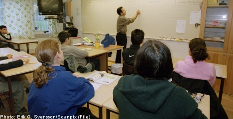 One in two students complain of 'noisy' class