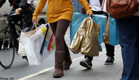 Swedes set for 'record' holiday shopping spree