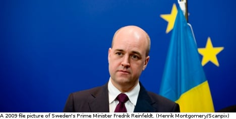 MEPs acted against Swedish interests: PM