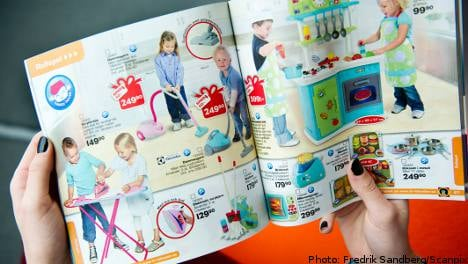 Swedish toy firm drops gender roles for Xmas