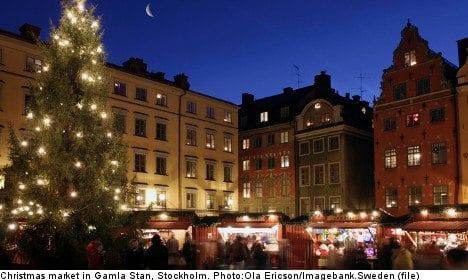 Stockholm Christmas markets: an overview