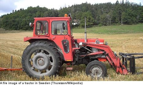 Student forced to hitch ride home with tractor