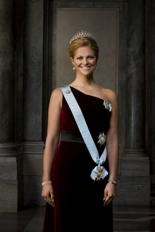 Her highness Princess Madeleine of Sweden<br>Her is the royal family's official picture of Princess Madeleine of Sweden. How do you think this dress compare to her previous Nobel evening gowns?Photo: Bruno Hers