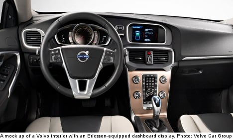 Ericsson to help Volvo cars connect to the net