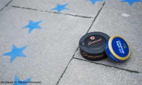 Brussels plays rough with Swedish snus