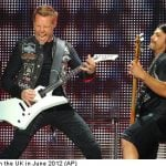 Spotify 'gets louder' with rockers Metallica