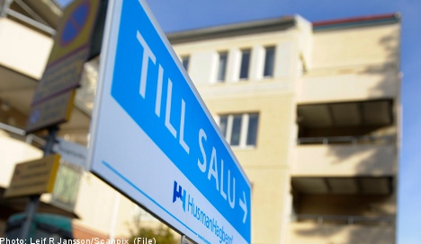 Swedish home prices rise despite slow growth