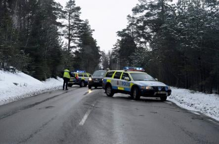 Police gave chase and followed the robbers to the woodsPhoto: Bertil Enevåg Ericson/Scanpix(File)