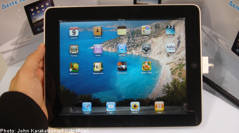 iPad owners to pay Swedish TV licence fee