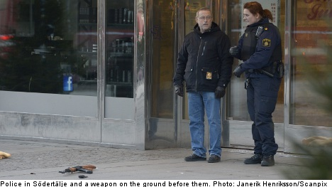 Four arrested over jewellery store robbery