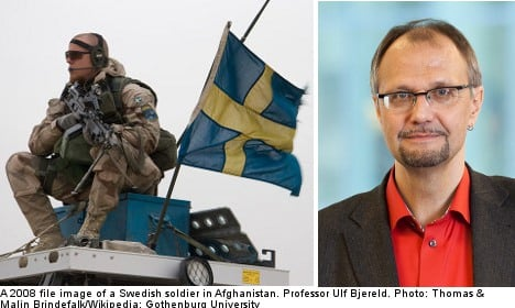 'Non-alignment is part of Sweden's self-image'