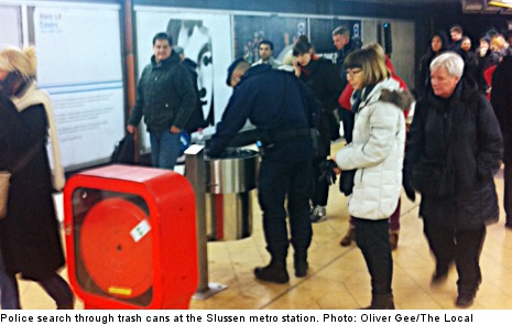 Robbery attempt shuts parts of Stockholm metro