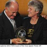 Swede Sundhage named FIFA coach of the year