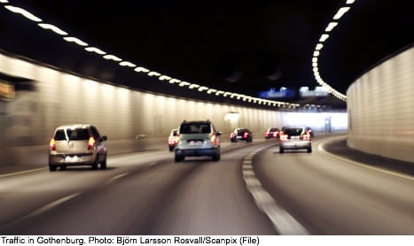Gothenburg traffic drops with new toll fee