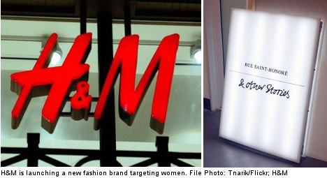 H&M targets women with new fashion brand