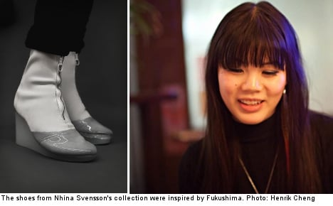 Stockholm students debut design collections