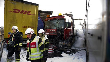 'Tight schedules for trucks up the risk'