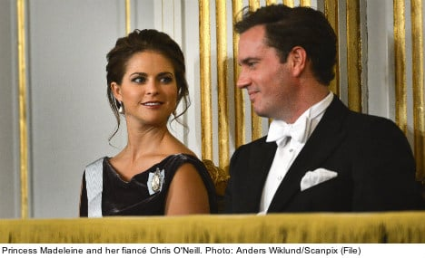 NY-based princess least favourite in Sweden