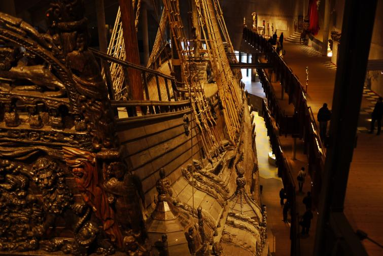 Vasa Museum<br>It's not just an old ship. In the Vasa Museum, you can learn about what the Vasa was and why it sank after 20 minutes at sea. But you can also see how the crew would have lived on board, what Sweden was like in the 17th century and why it might be challenging to preserve the ship for the future.Photo: rieh/Flickr (file)