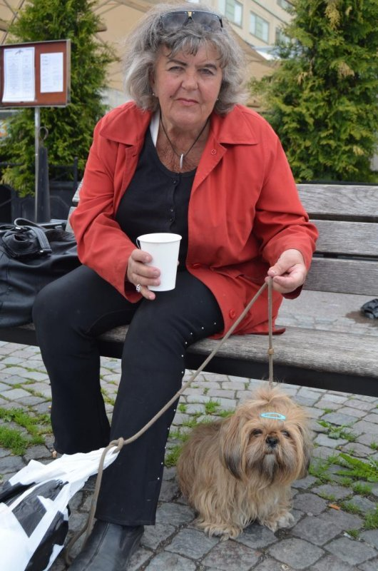 Elisabeth, 73<br>I think Skansen is a really nice place to go. You can see a lot of Nordic animals there. Kungsträdgarden is also very nice.
