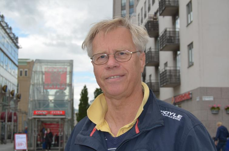 Ulf, 66<br>If you want to get an idea of how big Stockholm is, go to Fjällgatan. The view over the city is amazing – and it's for free.
